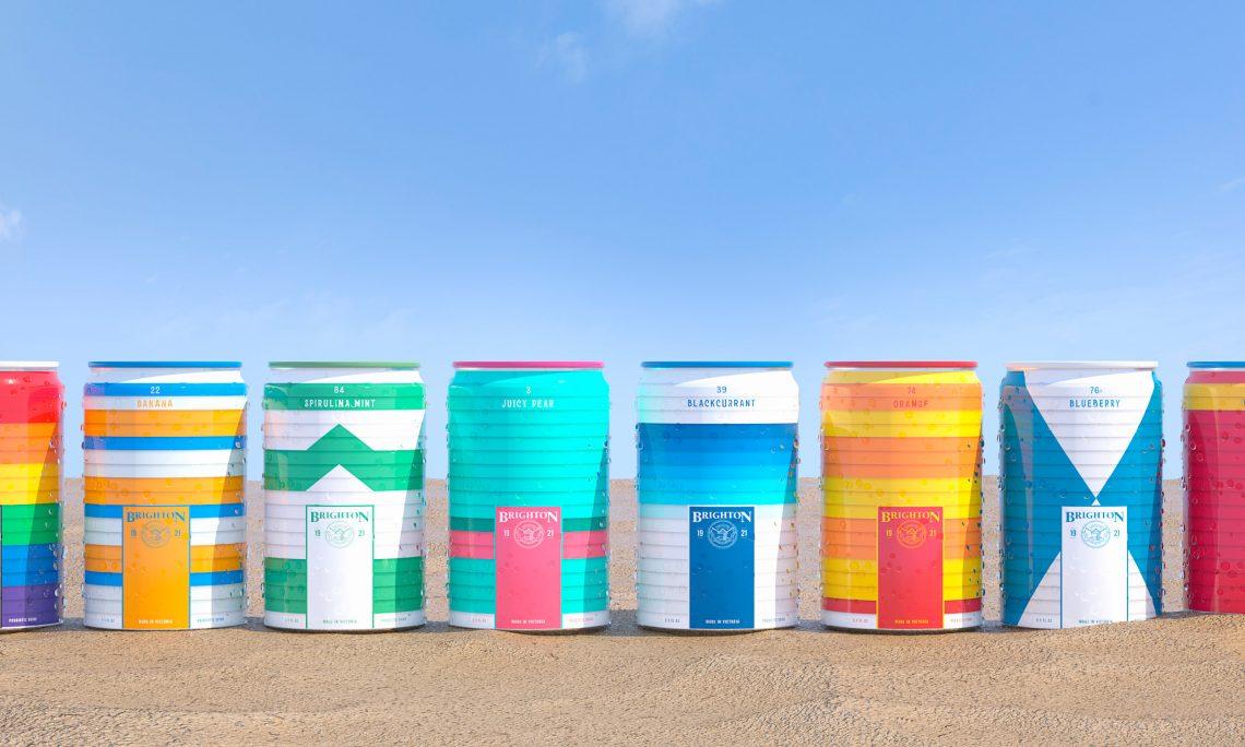 Brighton Soda can range