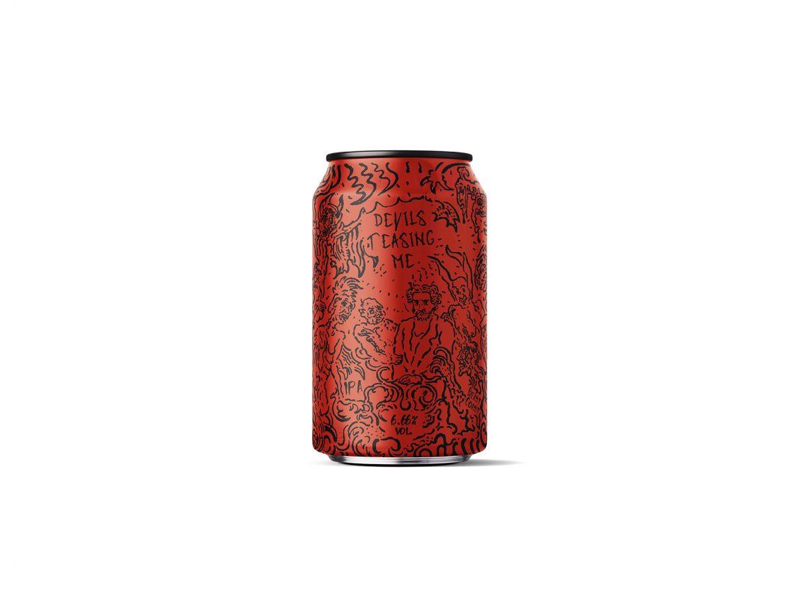 Canette de bière Devils teasing me