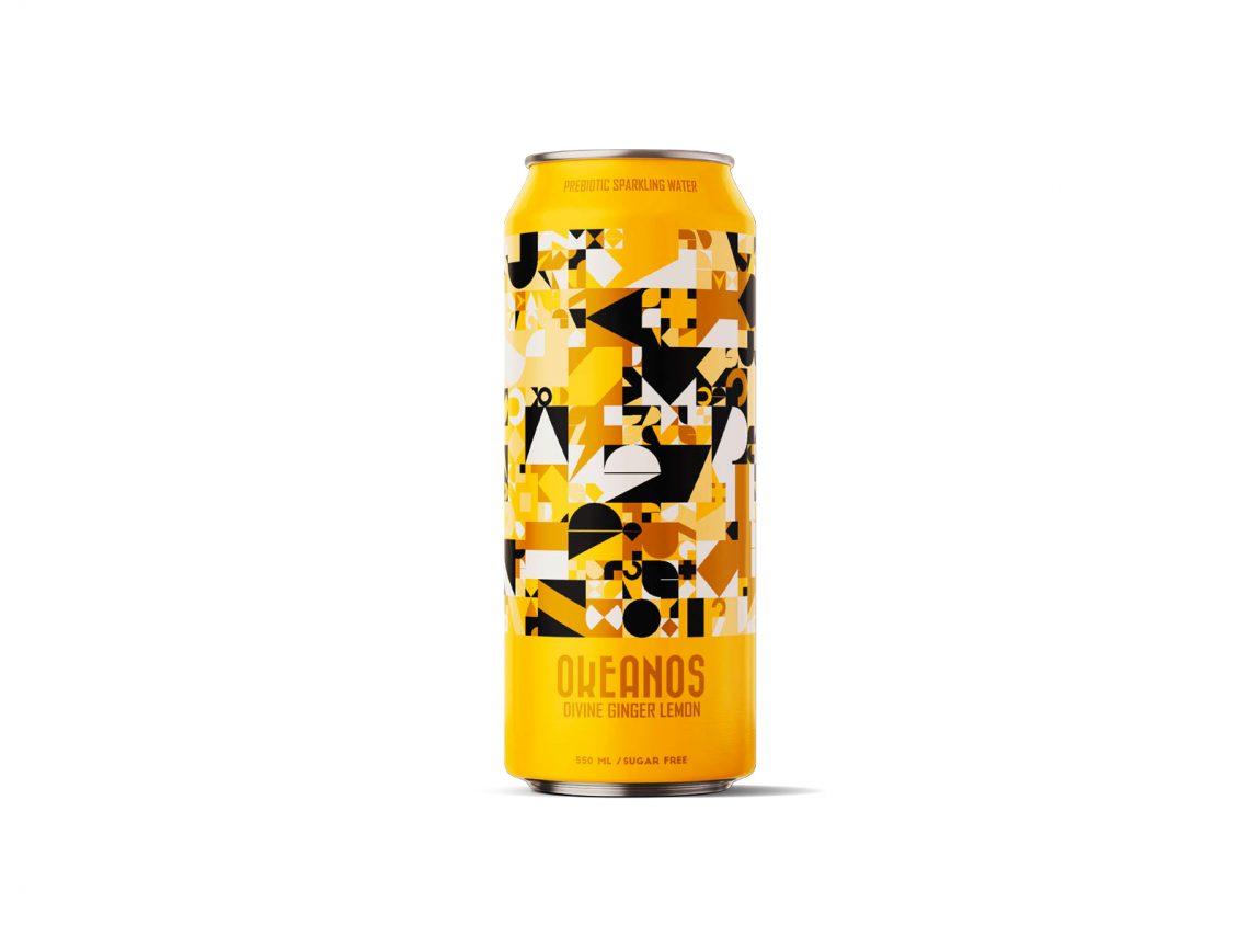 Canette de boisson sans alcool Okeanos
