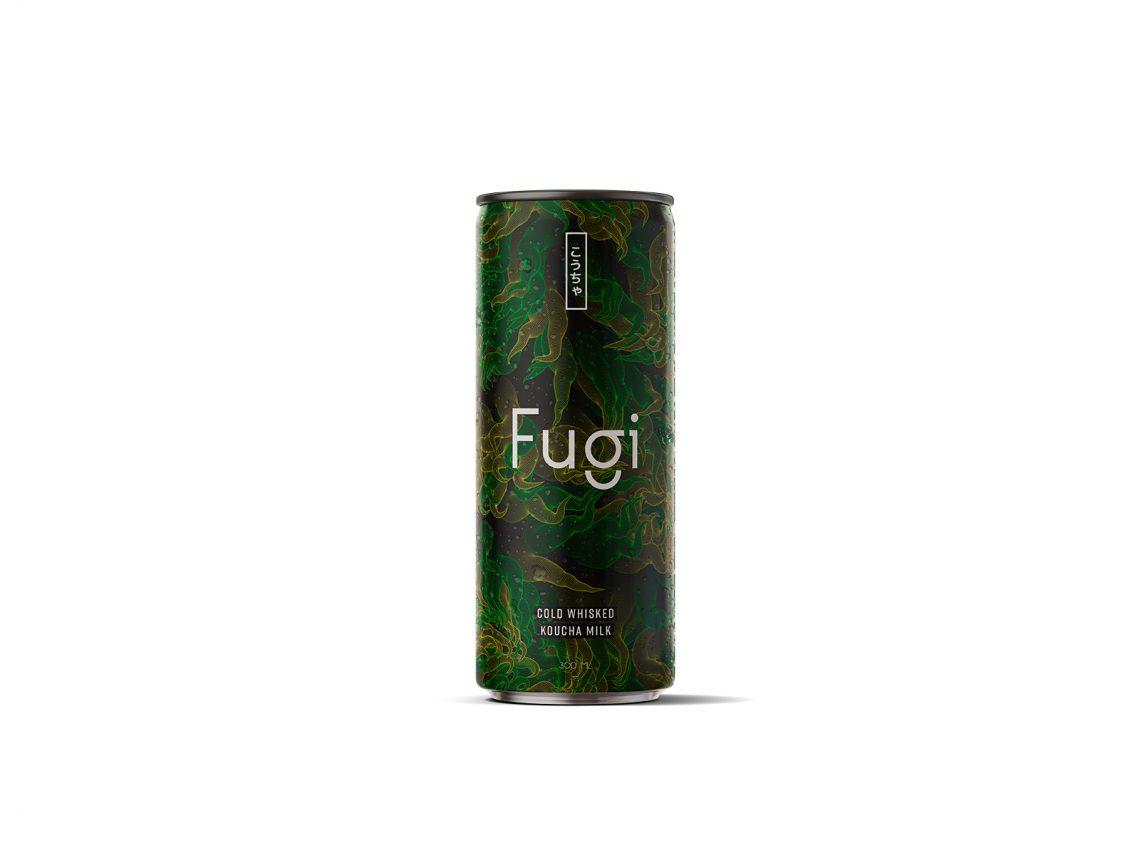 Canette de boisson sans alcool Fugi