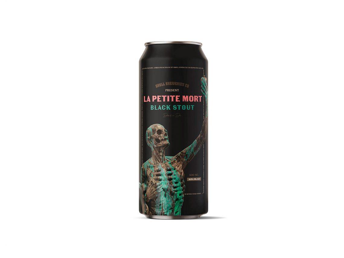 Canette de bière La Petite Mort
