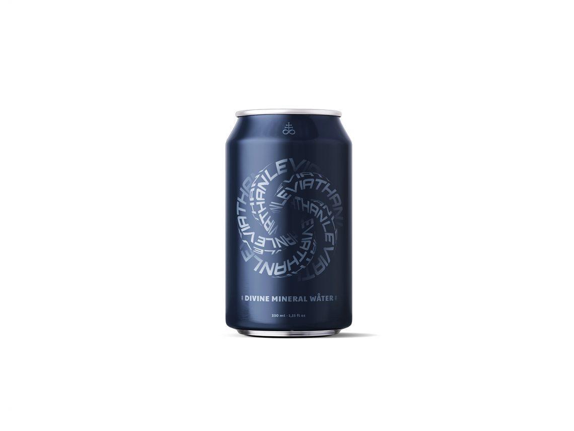 Canette d'eau pétillante Leviathan