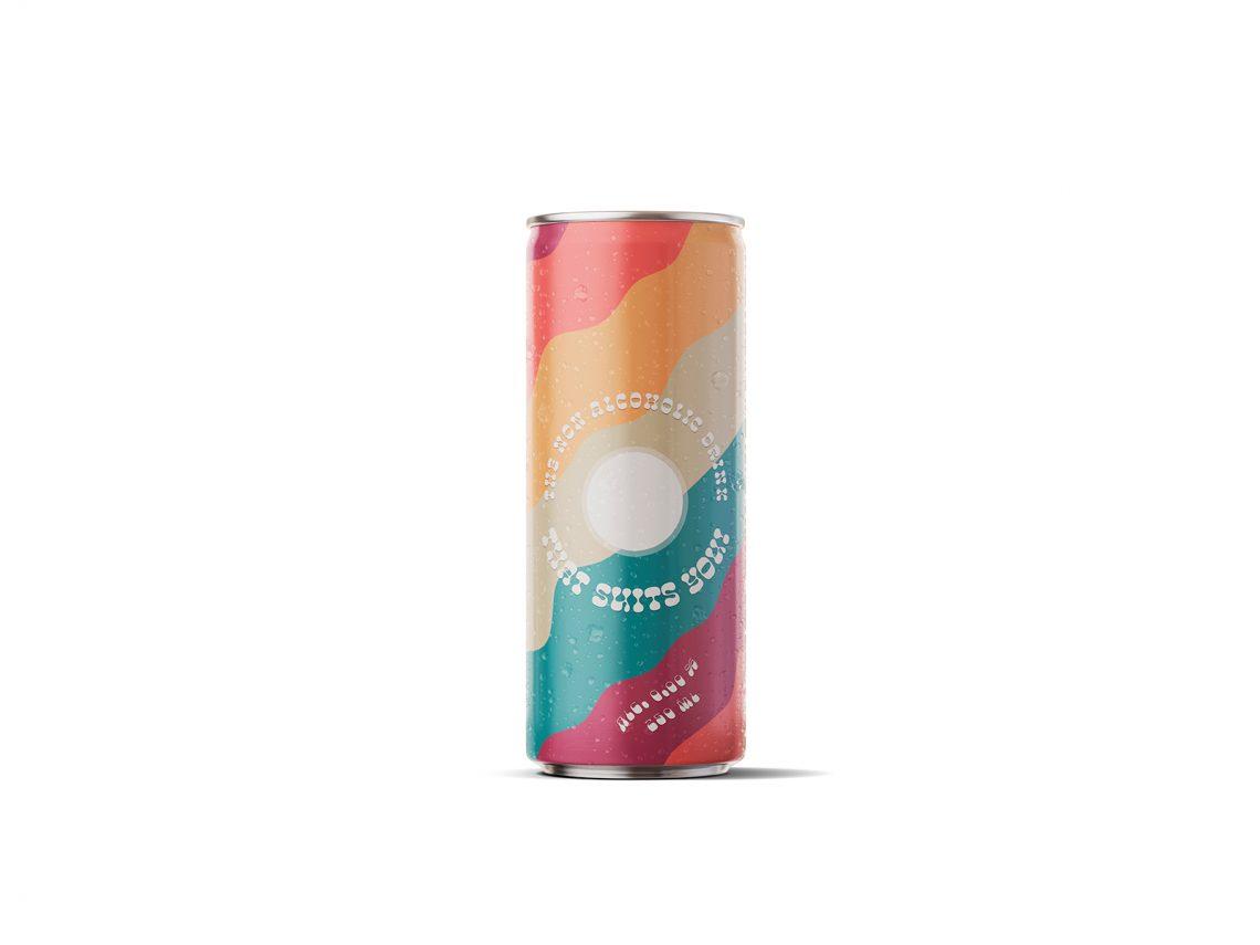 Canette de boisson sans alcool Blob