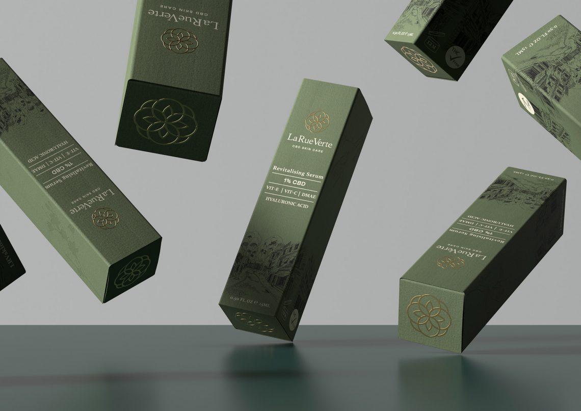 Produit cosmétique au CBD