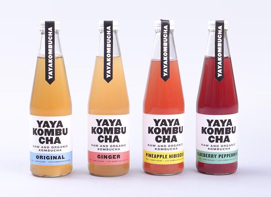 Yaya Kombucha bouteilles