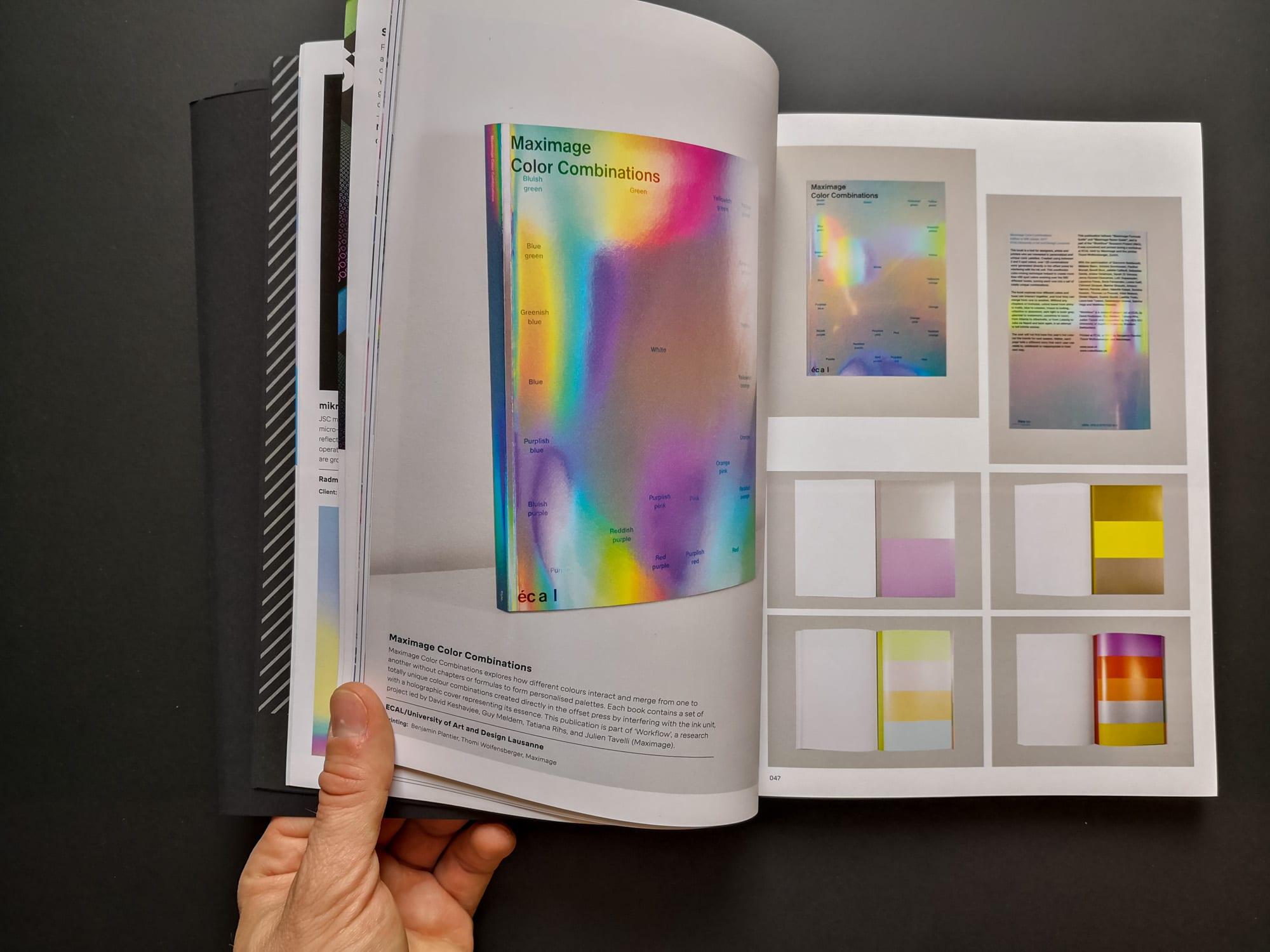 Palette 08 : Iridescent. Maximage Color Combinations