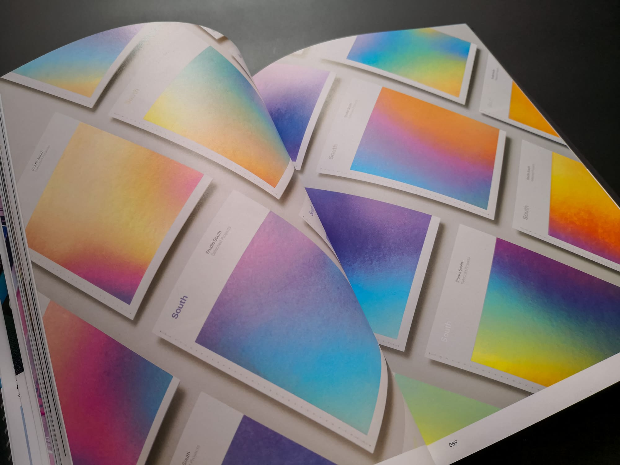 Palette 08 : Iridescent. South Business Cards