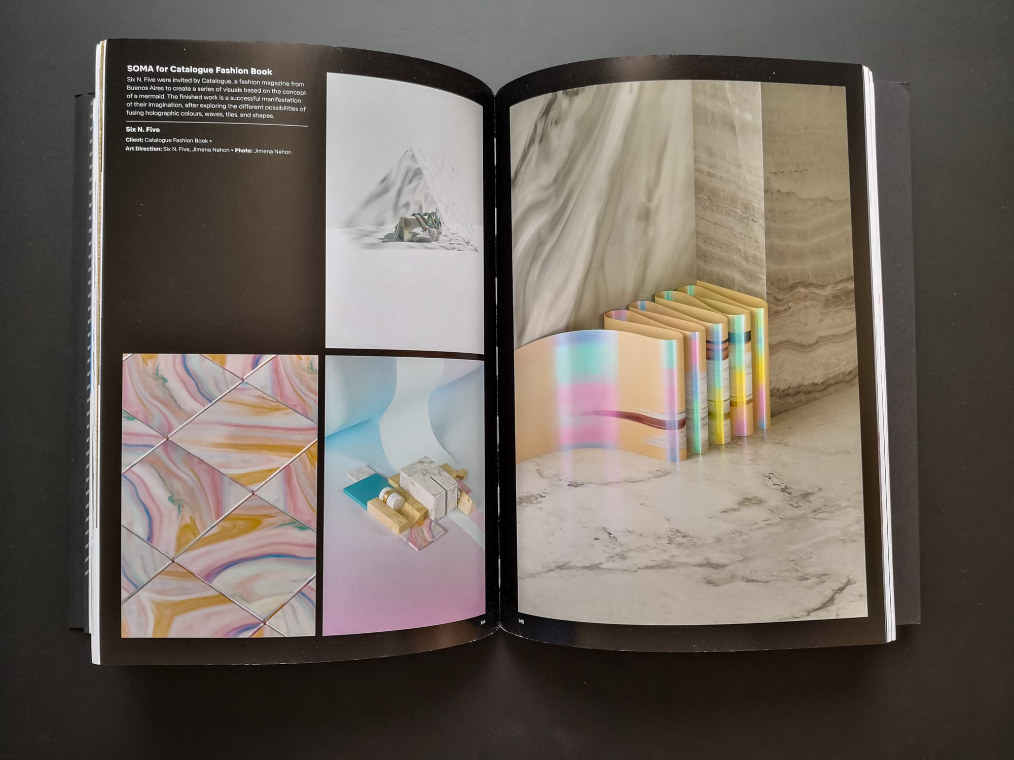 Palette 08 : Iridescent. SOMA for Catalogue Fashion Book