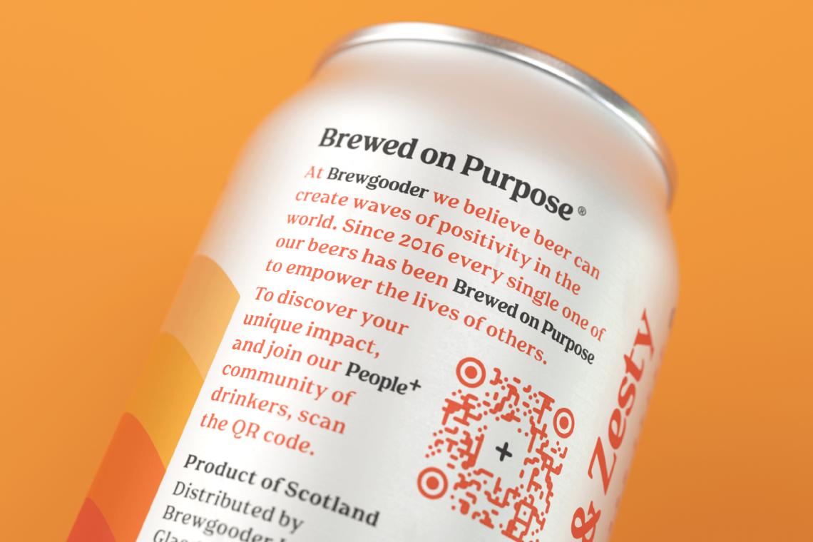 Brewgooder bière