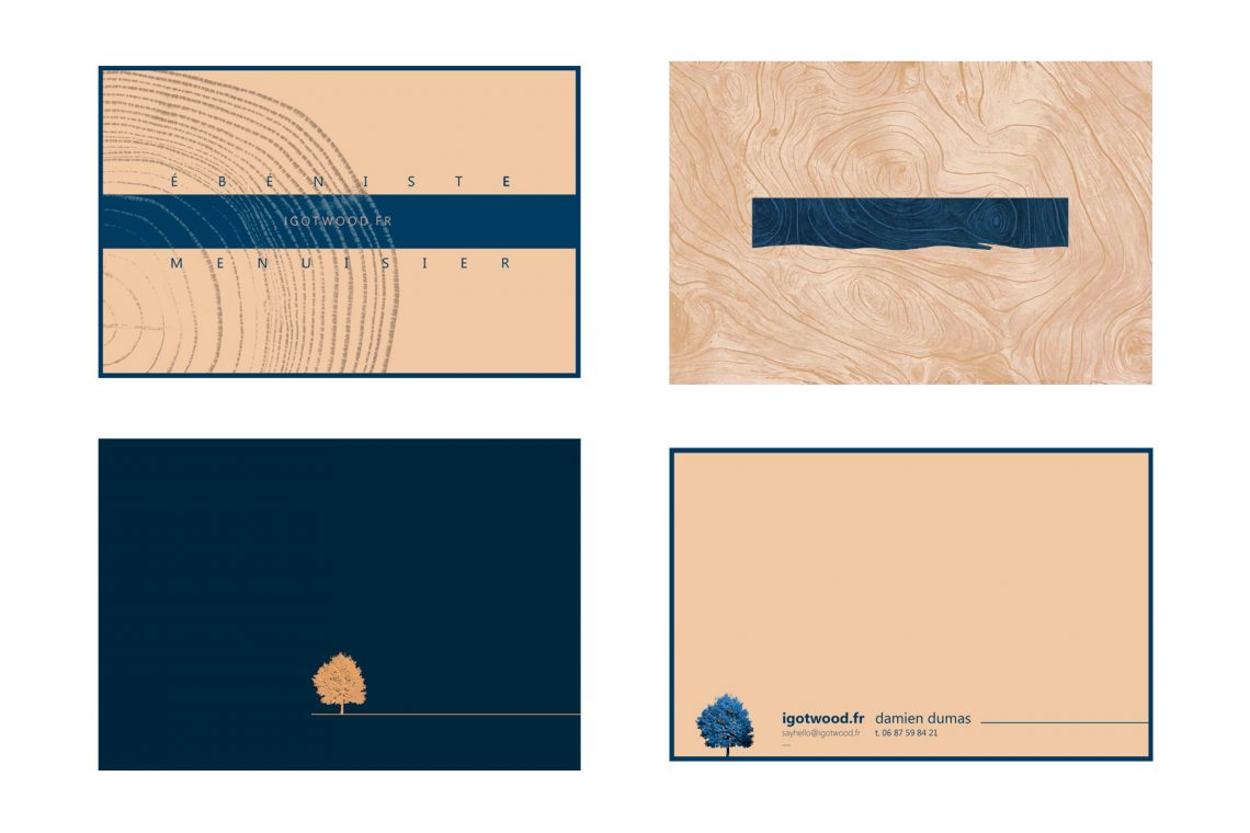 Corporate Identity - Business Card Blanks