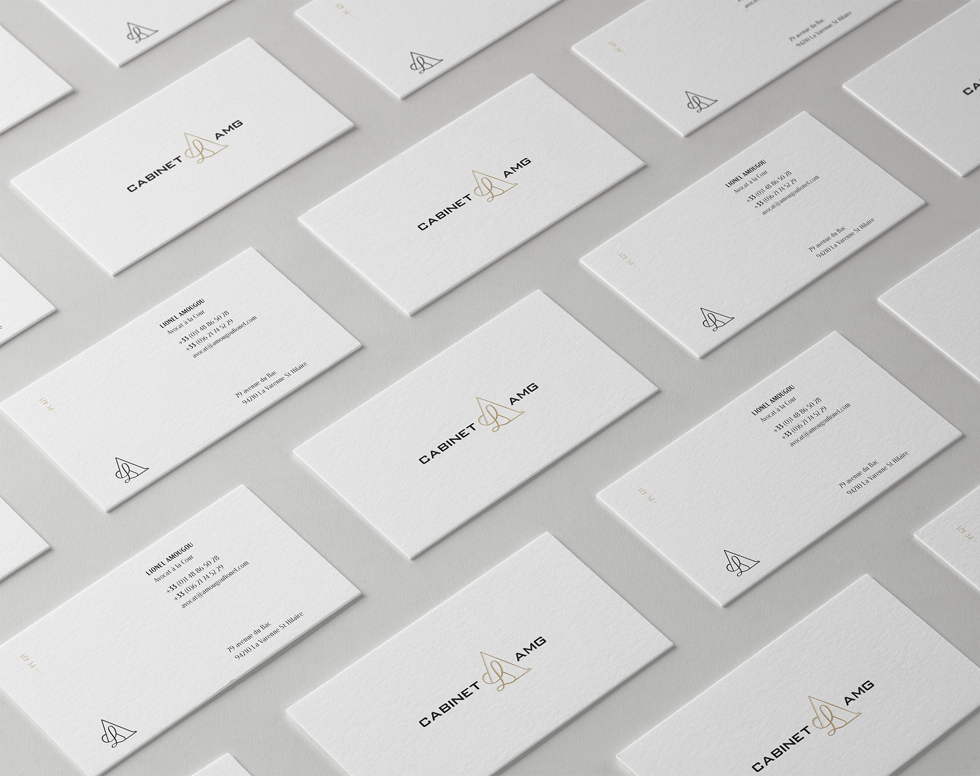 Cabinet Business Cards