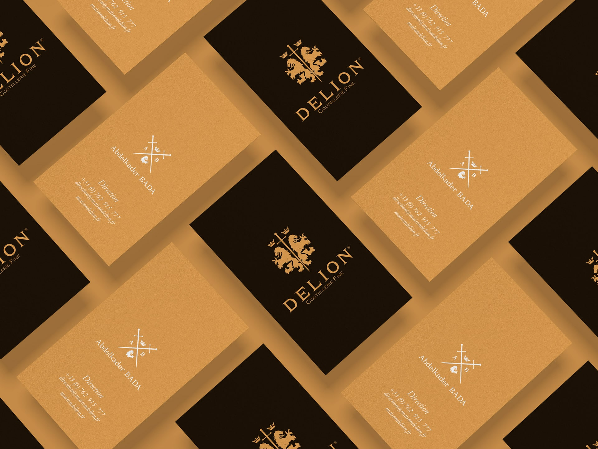 Delion business cards