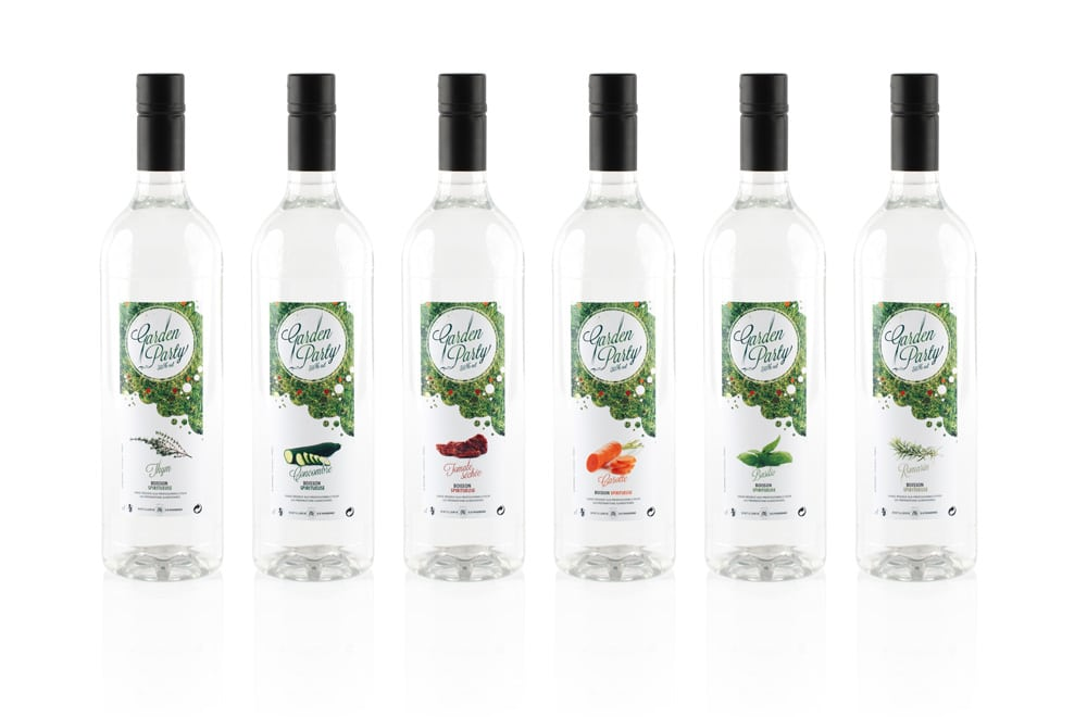 Garden Party Eau-de-Vie range
