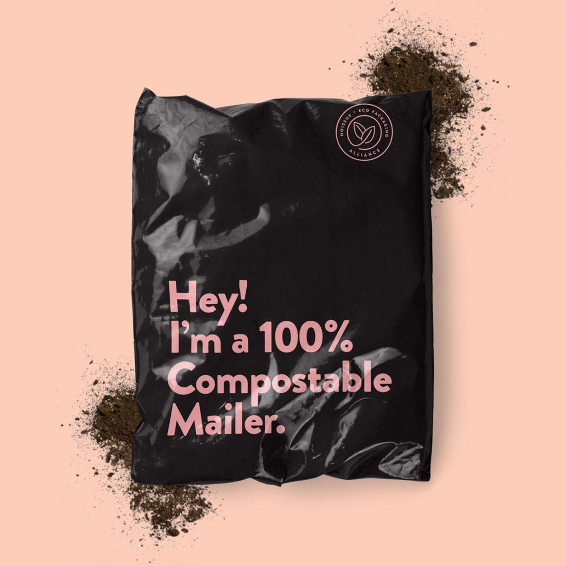 sac entièrement biodégradable