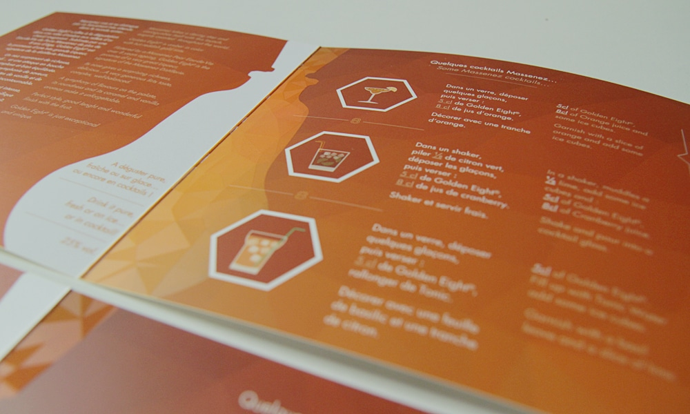 Leaflet Golden Eight inner pages