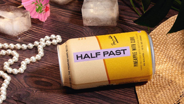 Half Past premium hard seltzer