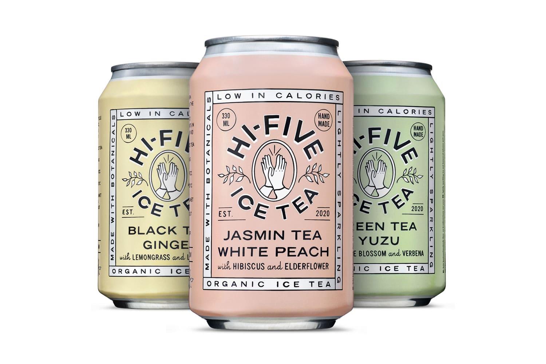 Hi-Five Ice Tea, packaging soft