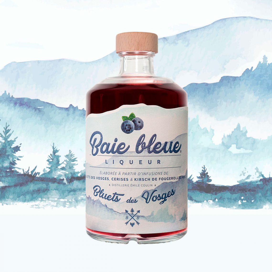 Liqueur Baie Bleue