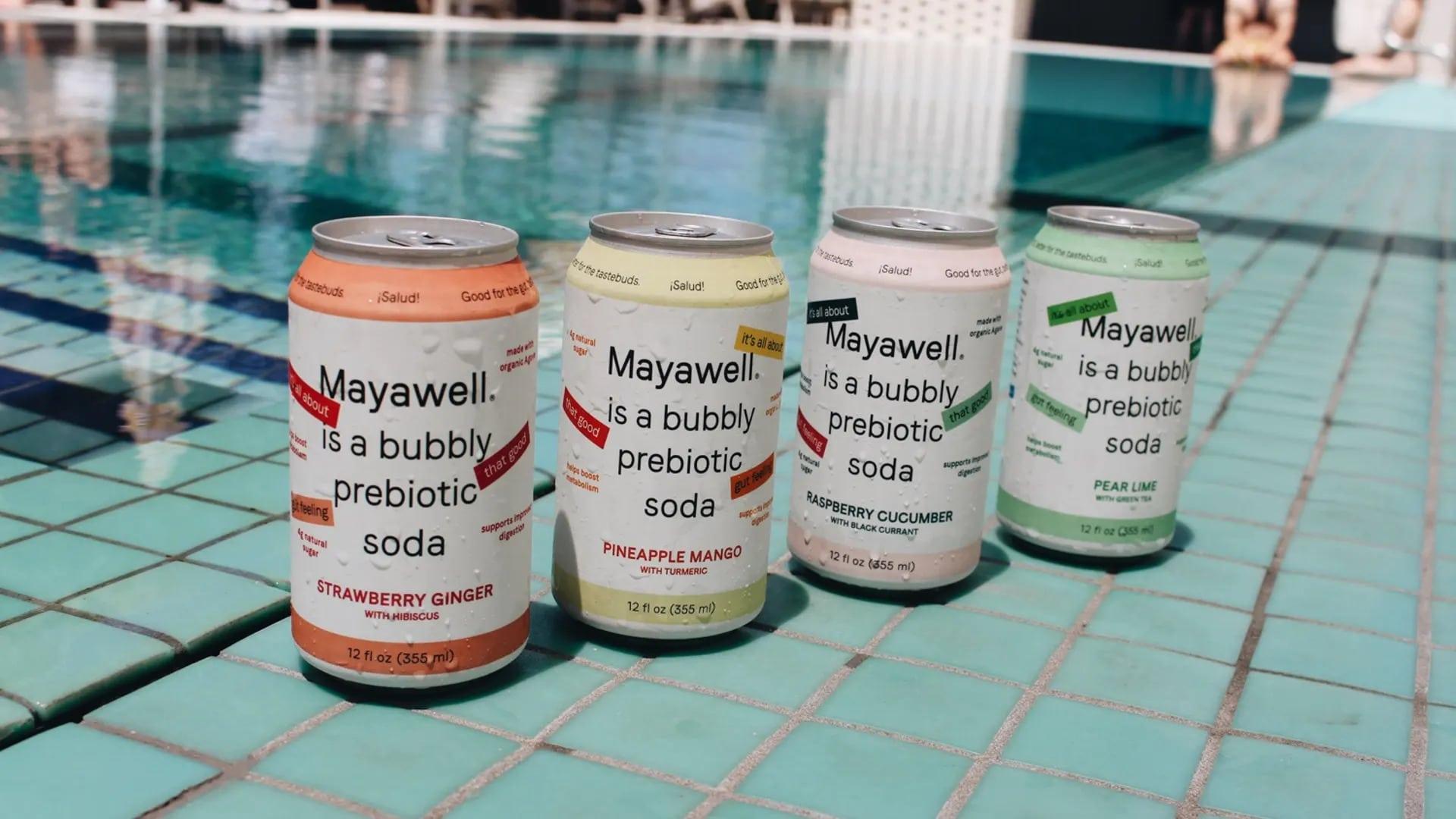 Mayawell soda prébiotique