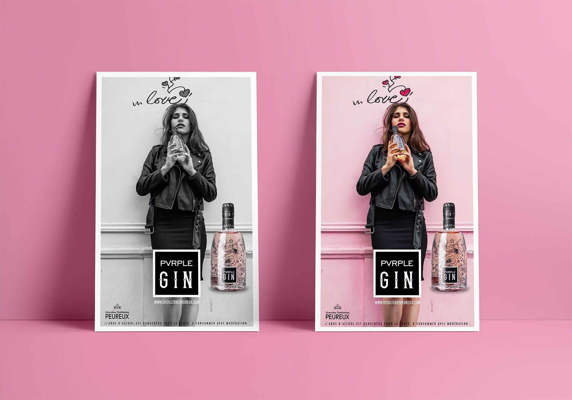 Poster Pvrple Gin
