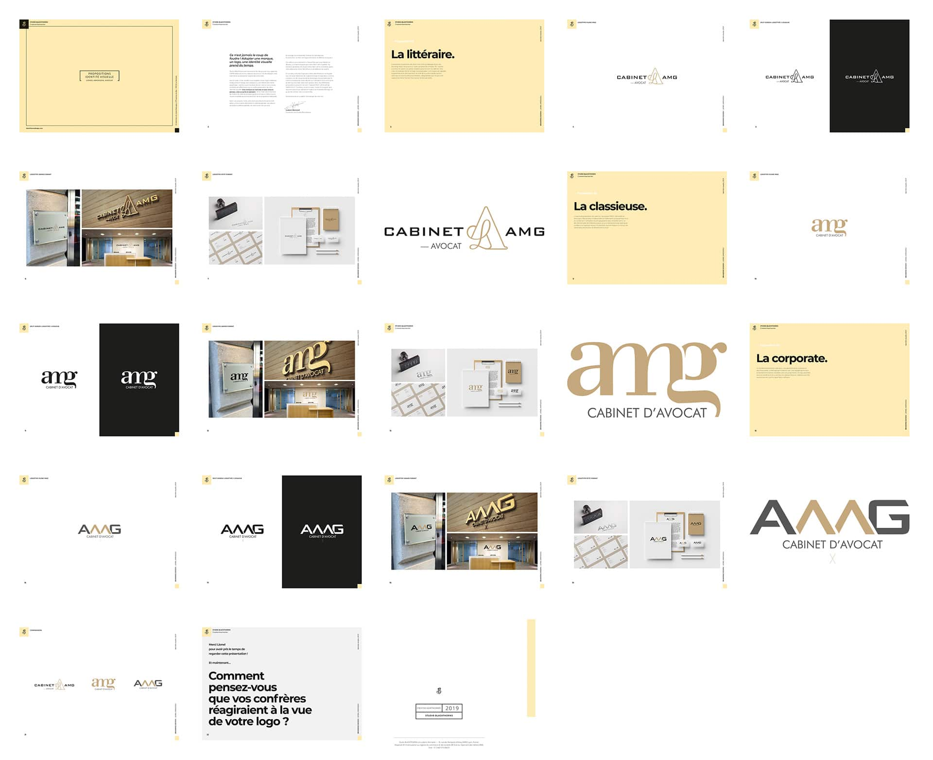 Strategic plan for AMG's visual identity